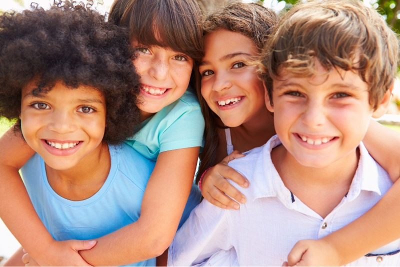 happy children cured from Chronic Ear Infections